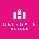 Delegate Hotels Logo - White - Social